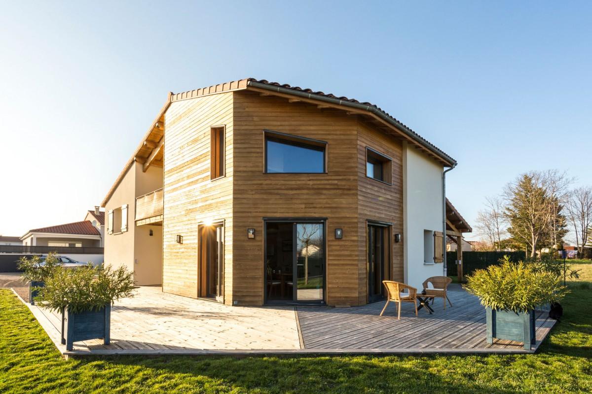 Une belle maison bioclimatique